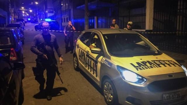 Local próximo de onde ocorreu o crime (Crédito: Márcio Menasce / Agência O Globo)