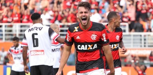 Felipe Vizeu (Crédito: Gilvan de Souza/Flamengo)