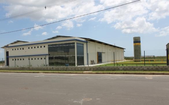 Primeira indústria da ZPE de Parnaíba (Crédito: Divulgação)