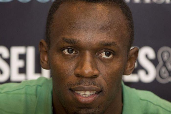 Bolt fez doação ao Haiti (Crédito: Divulgação)