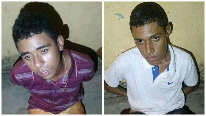 Homens presos na Zona Leste (Crédito: Reprodução)