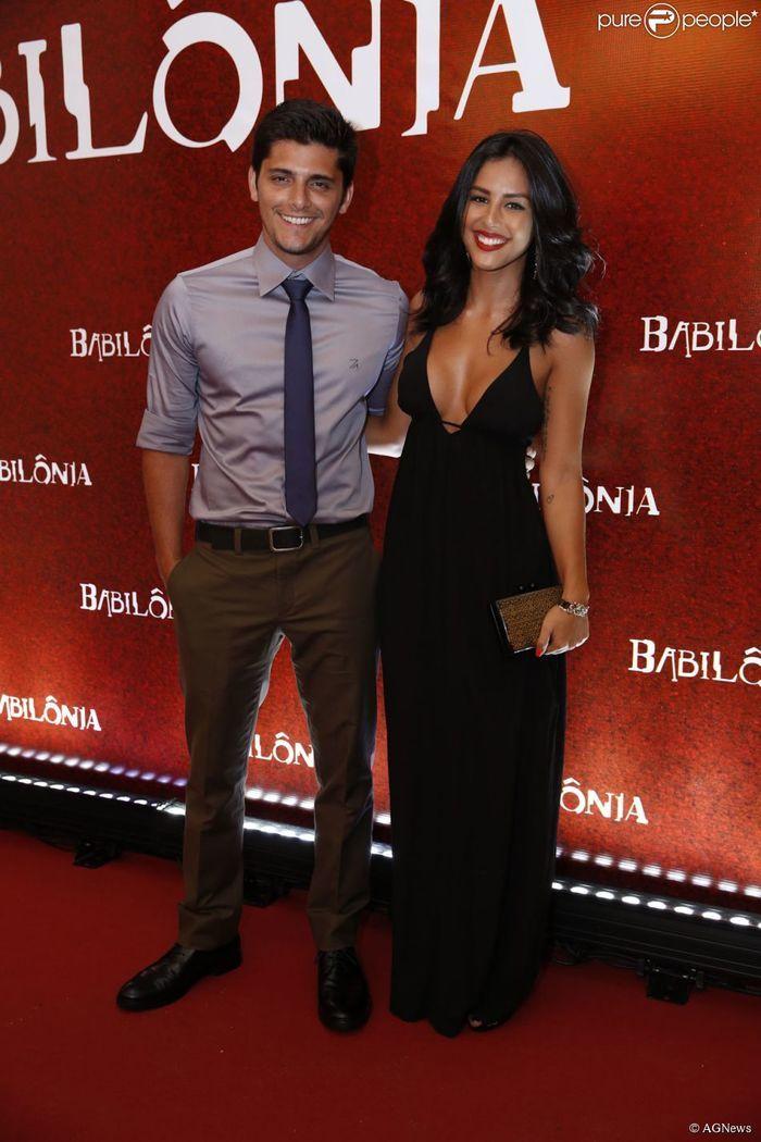 Bruno Gissoni e Yanna Lavigne  (Crédito: Reprodução)