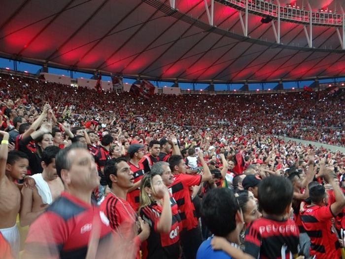 Torcida do Flamengo no Maracanã (Crédito: Divulgação)