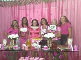 Membros da Assembleia de Deus em São Félix promovem o Chá Rosa