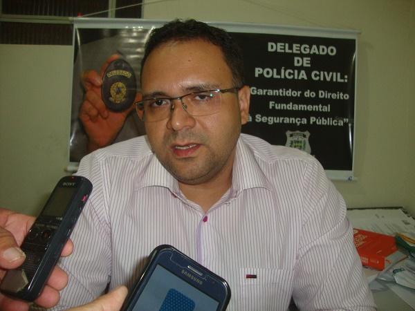 Delegado falou sobre prisão do acusado (Crédito: Reprodução)