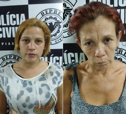 Jurandilma de Sousa Carvalho e sua mãe, Danyelle de Sousa Santos (Crédito: Divulgação)