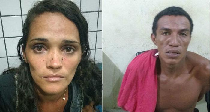 Suzyanne Alves Fernandes e Francinaldo de Sousa Matos da Silva (Crédito: Divulgação)