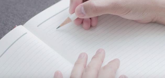 Escrever ajuda a diminuir pensamentos negativos
