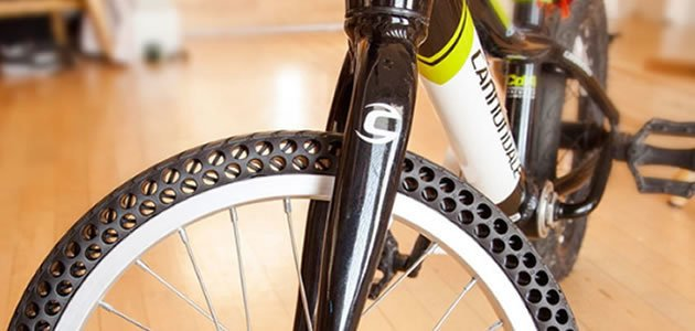 Empresa cria pneus que não necessitam de ar