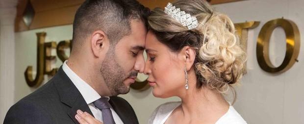 """Urach posta foto do casamento: """"Amor que não cabe no peito"""""""