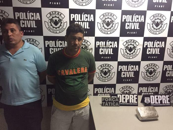 Mazin e Erivan Alves e Silva foram presos em flagrante