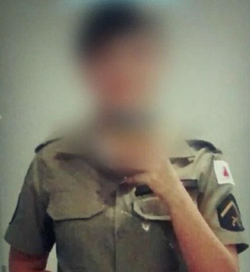 Nudes de policial fardada vaza nas redes sociais