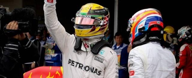 Lewis Hamilton faz a pole position do Grande Prêmio do Brasil