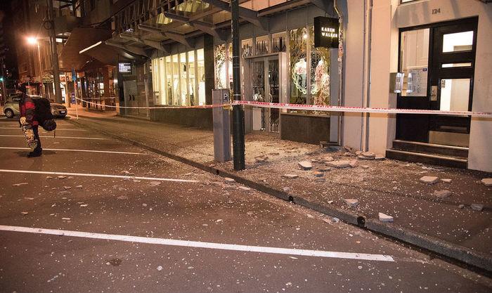terremoto de magnitude 7,8 causou destruição (Crédito:  Ross Setford / SNPA via AP)