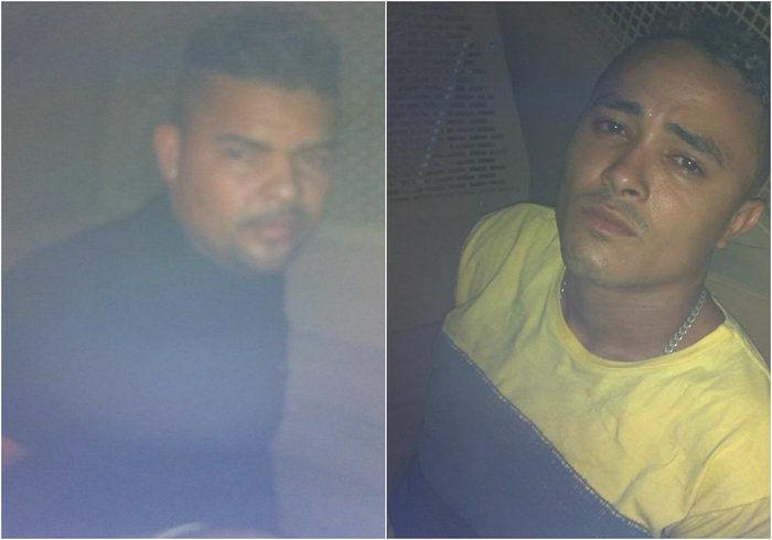 Dupla é presa com drogas e arma de fogo na zona Leste de Teresina (Crédito: Plantão Policial)