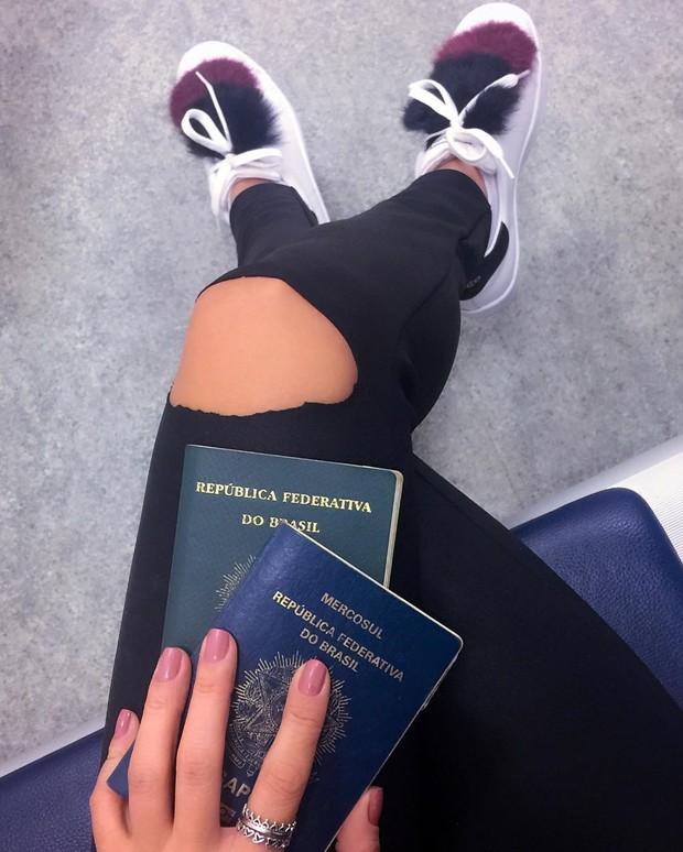 Paula Fernandes colocou ponto final viajoupara Las Vegas (Crédito: Reprodução/ Instagram)