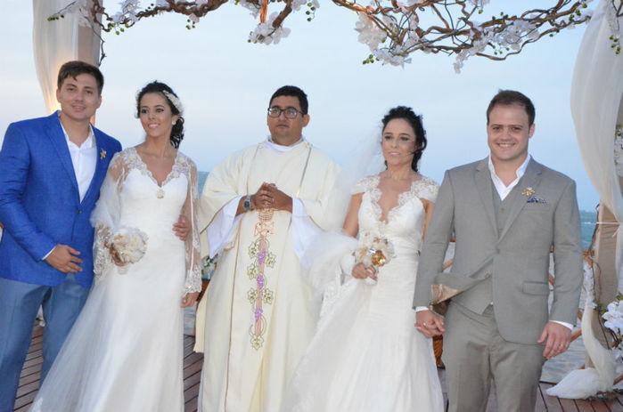 Casamentos foram realizados em Barra Grande (Crédito: Magal)