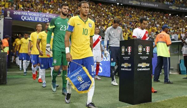 Brasil enfrenta o Peru fora de casa (Crédito: Reprodução)