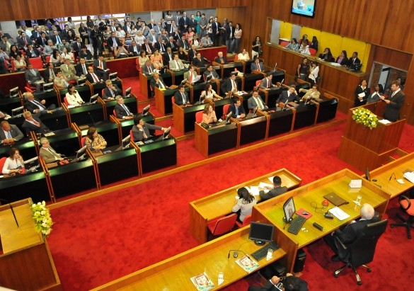 Plenário da Alepi (Crédito: Reprodução)