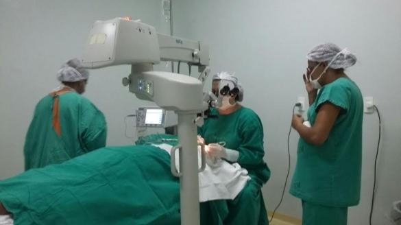 Mutirão de cirurgias no HGV  (Crédito: Reprodução)