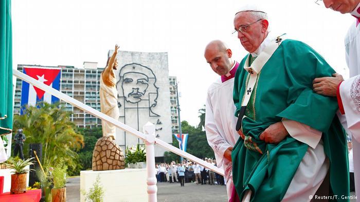Papa Francisco em Cuba (Crédito: Reuters)