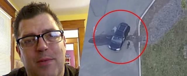Homem usa drone, descobre que mulher o traiu e vídeo viraliza