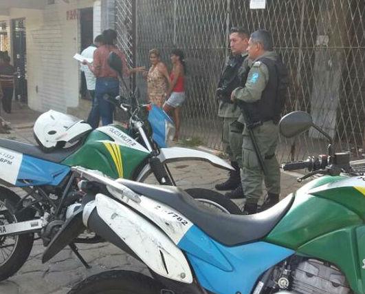 Local isolado pela polícia (Crédito: Miguel Mendes)