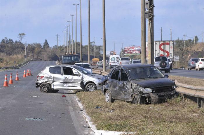 Brasil gastou R$ 56 bilhões com acidentes de trânsito (Crédito: Reprodução)