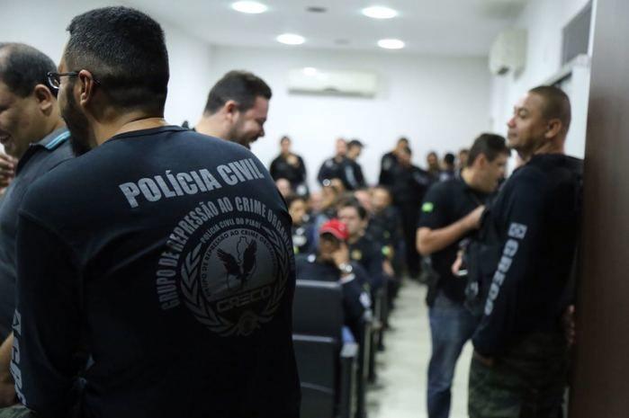 Operação Vigiles cumpre mandados de prisões (Crédito: Divulgação)