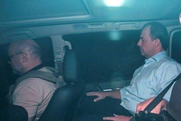 Cabral foi levado no fim da tarde desta quinta-feira