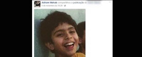 Homem faz campanha na web para achar filho levado pela mãe