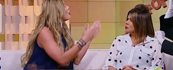 """Lívia Andrade ataca Mara Maravilha no Fofocando: """"Você é chata"""""""