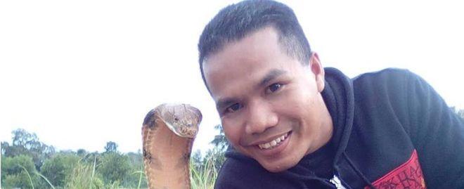 """""""Não casei com uma cobra"""", diz bombeiro malaio que viralizou"""