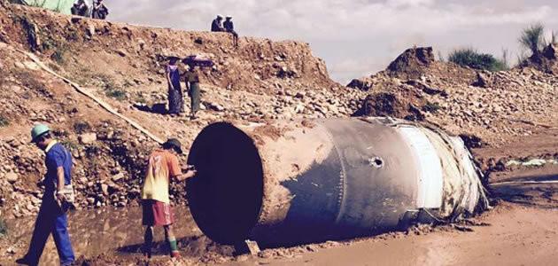 Objeto metálico cai do céu e assusta moradores da Birmânia