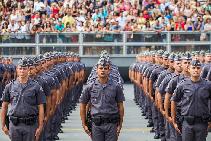 Polícia Militar de São Paulo (Crédito: Reprodução)