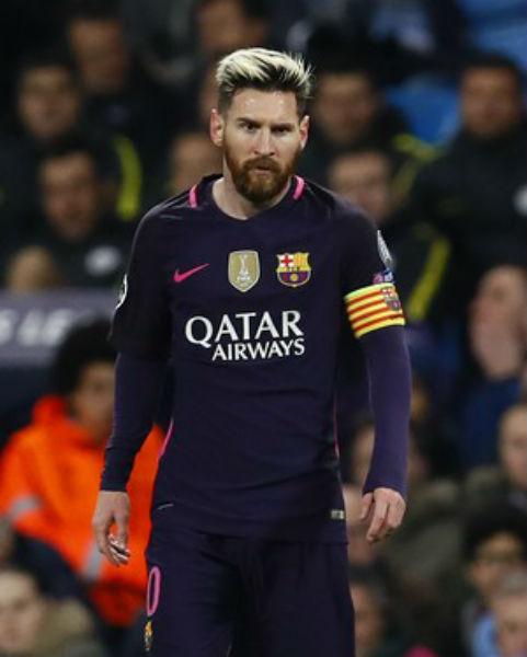 Messi teria sido provocado por jogador do Citizen após a partida em Manchester