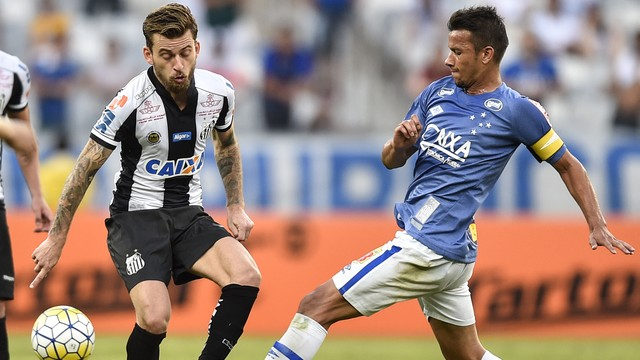 Santos cedeu o empate no final do jogo