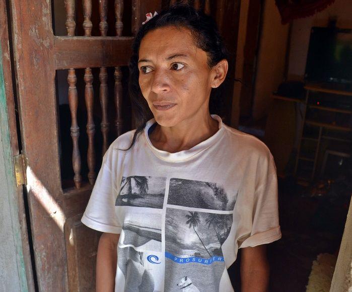Rosiane Pereira dos Santos foi presa em flagrante.  (Crédito: Kairo Amaral)