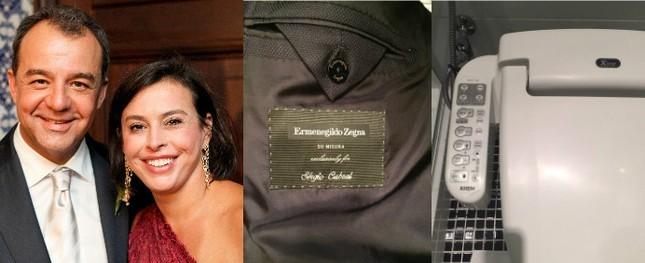 Sérgio Cabral tinha 20 ternos de luxo e privada aquecida
