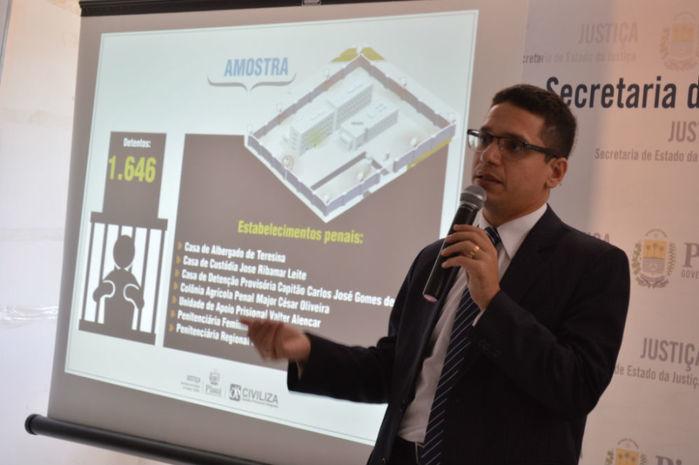 Apresentação do mapeamento da população carcerária na grande Teresina
