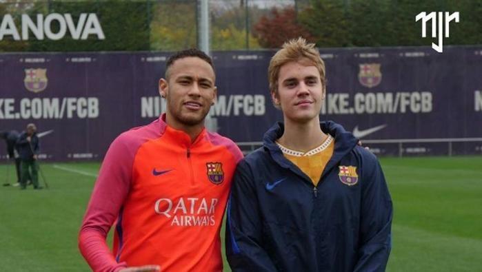 Neymar, Justin Bieber  (Crédito: Reprodução/ Instagram)