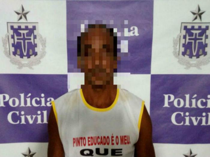 Pai foi preso acusado de estuprar a filha há 6 anos