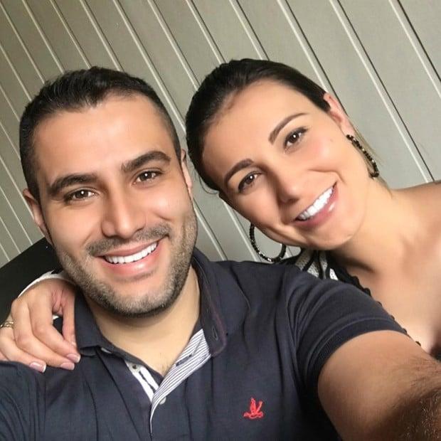 Andressa Urach se declara para o marido (Crédito: Reprodução/Instagram)