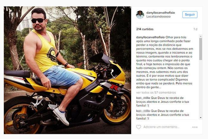 Danyllo Carvalho de Lima  (Crédito: Reprodução)