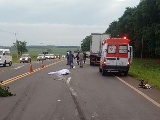 Vítimas teriam sido atropeladas ao pedir ajuda em rodovia após acidente (Crédito: Reprodução)
