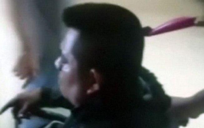 Campos levou a facada na rua e se dirigiu, sozinho, ao Hospital  (Crédito: Mirror)