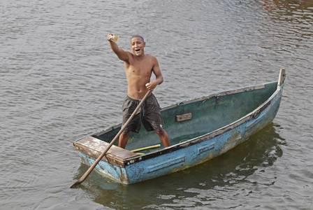 Pescador já conseguiu R$ 1,9 mil (Crédito: Urbano Erbiste)