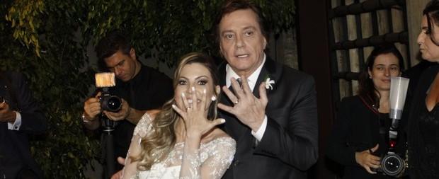 Fábio Jr. se casa pela 7º vez e sente ausência de Cleo Pires