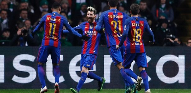 Messi fez os dois gols da vitória (Crédito: Reuters)