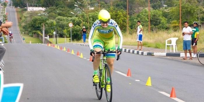 Piauiense conquista inédita medalha de ouro no ciclismo em Roraima